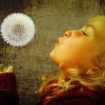 Dandelion Wishes - by Tony Docherty - Limited Edition Print at 18x24